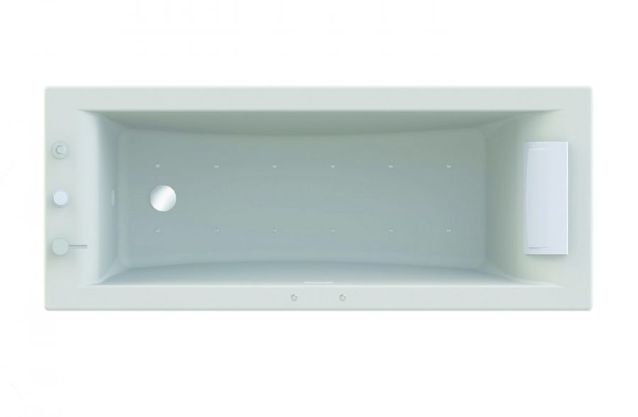 Baignoire baln o pl nitude rectangulaire meuble de salle - Marque baignoire balneo ...