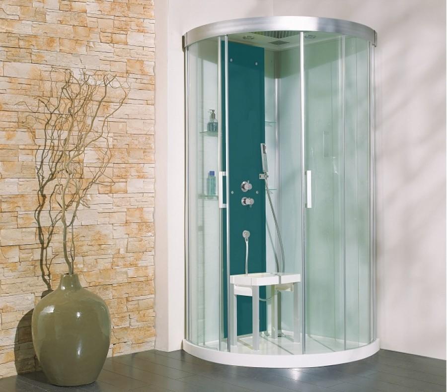 cabine de douche thermostatique 90x90 kineform r meuble de salle de bain. Black Bedroom Furniture Sets. Home Design Ideas
