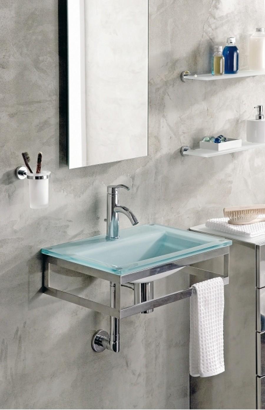 lave mains en verre opaline vo05089 meuble de salle de bain douche baignoire. Black Bedroom Furniture Sets. Home Design Ideas