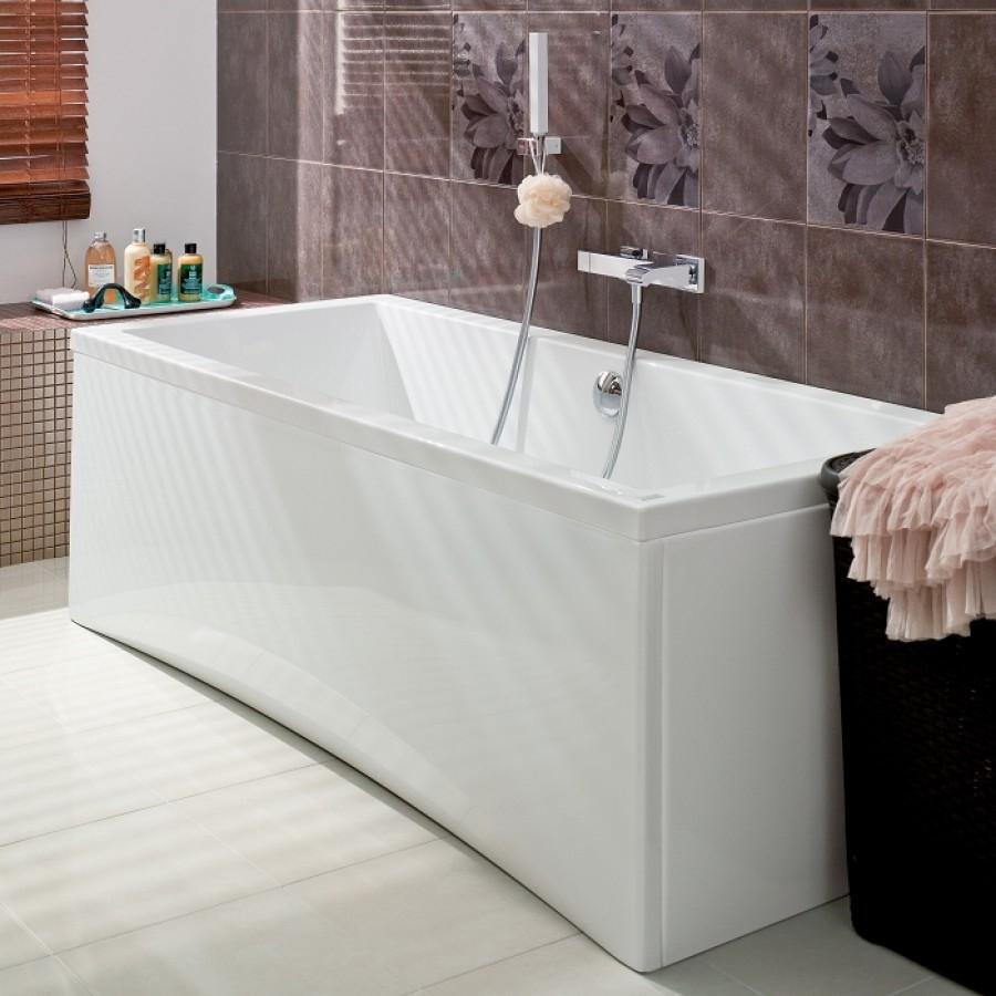 baignoire rectangulaire 160x75 intro sans meuble de salle de bain douche. Black Bedroom Furniture Sets. Home Design Ideas