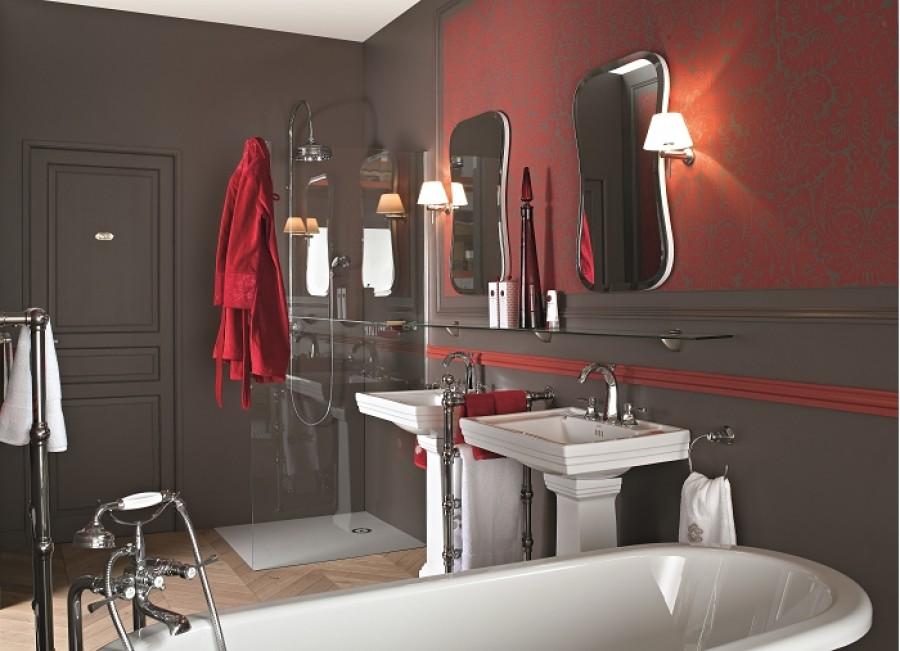Lavabo salle de bain retro cool meuble de salle de bain for S s bains ias