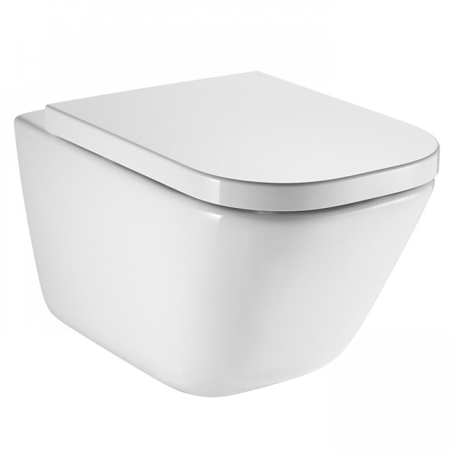 cuvette suspendue sans bride cleanrim the gap meuble de salle de bain douche. Black Bedroom Furniture Sets. Home Design Ideas