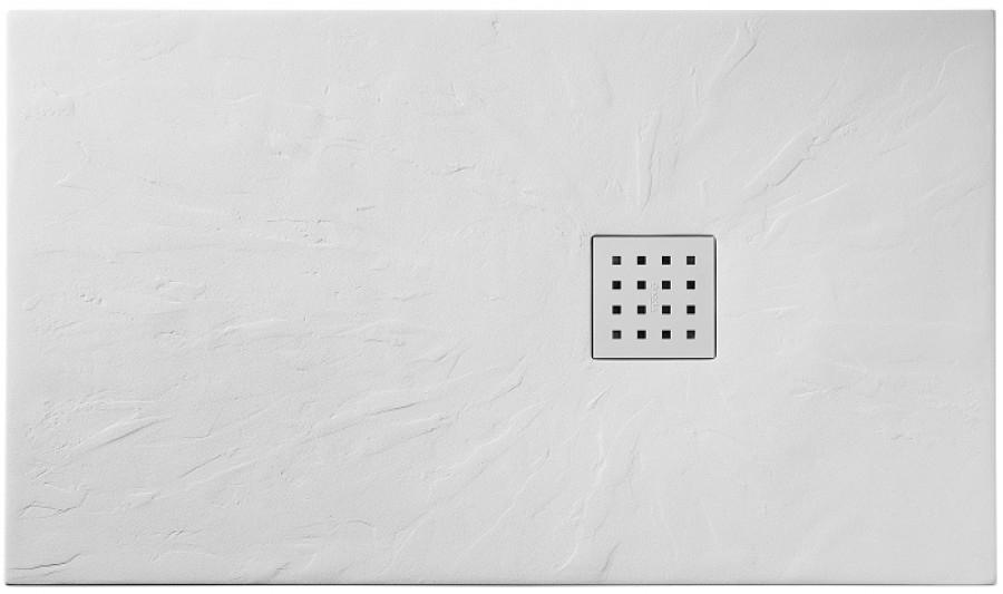 receveur de douche 70x90 cm pizarra blanc. Black Bedroom Furniture Sets. Home Design Ideas