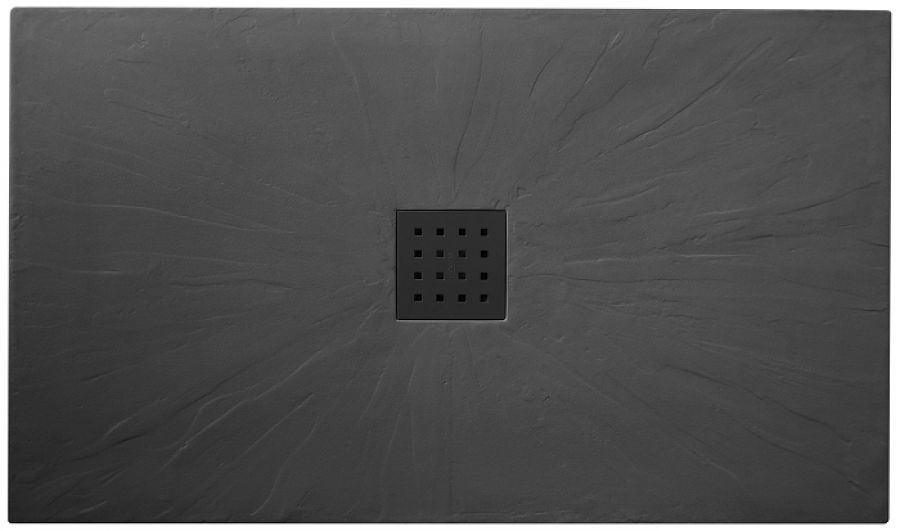receveur de douche 70x90 pizarra graphite meuble de salle de bain douche baignoire. Black Bedroom Furniture Sets. Home Design Ideas