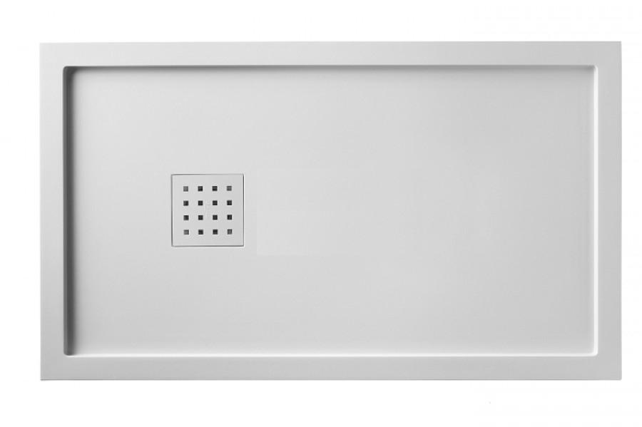 receveur de douche 80x140 liso enmarcado meuble de salle de bain douche. Black Bedroom Furniture Sets. Home Design Ideas