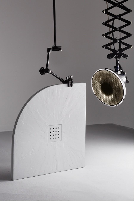 receveur de douche 80x80 pizarra 1 4 de rond. Black Bedroom Furniture Sets. Home Design Ideas