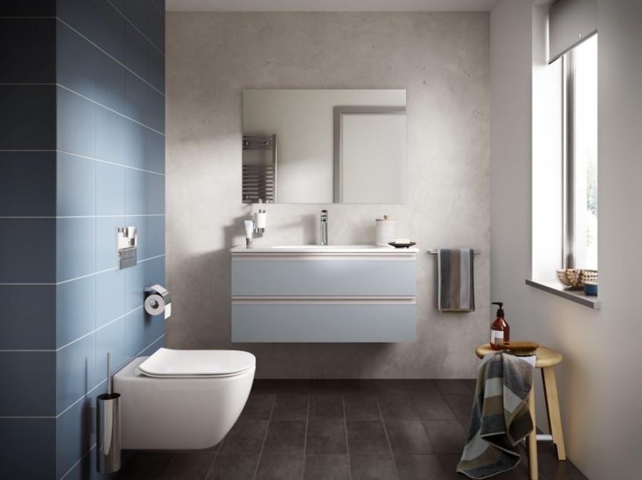 cuvette suspendue sans bride tesi meuble de salle de bain douche baignoire. Black Bedroom Furniture Sets. Home Design Ideas