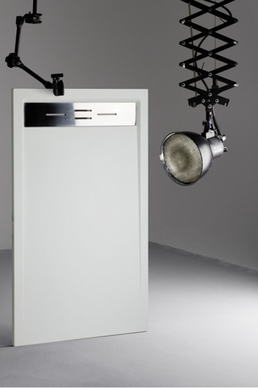 receveur de douche 80x120 canto blanc meuble de salle de bain douche baignoire. Black Bedroom Furniture Sets. Home Design Ideas