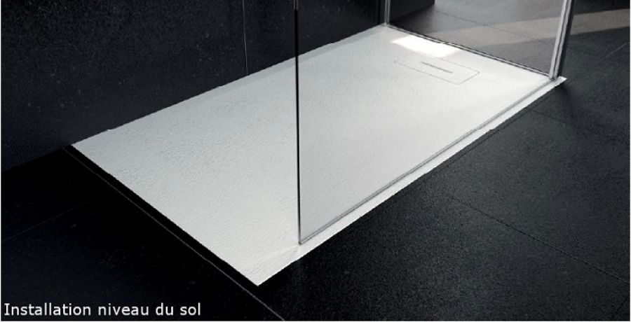 Receveur Novosolid 160 X 80 Blanc Mat Novellinisanitaire