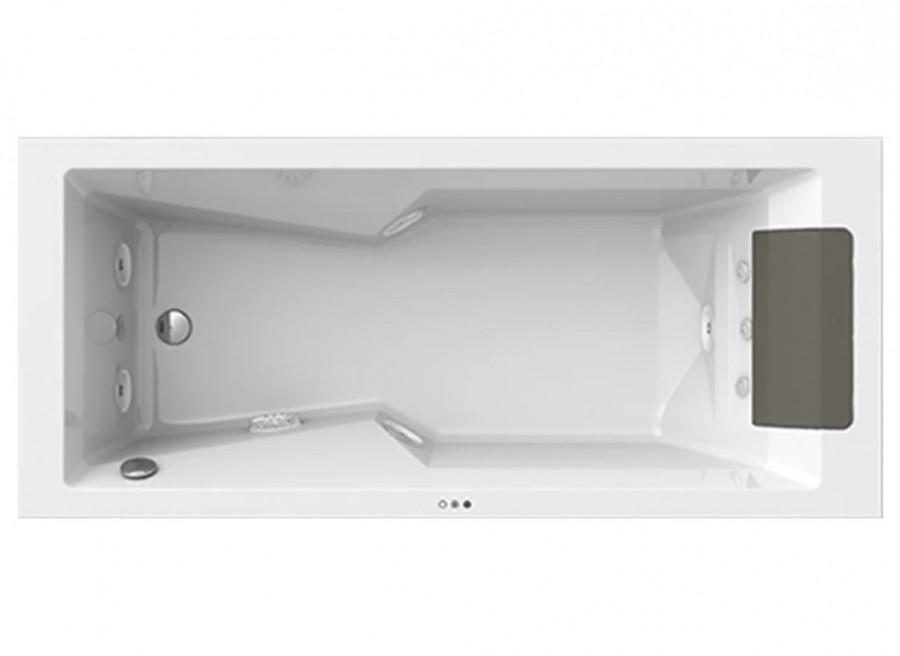 baignoire myway droite 180x80 avec remplissage par trop plein. Black Bedroom Furniture Sets. Home Design Ideas