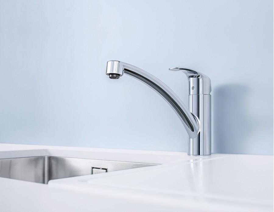 mitigeur evier eurosmart grohe meuble de salle de bain douche baignoire. Black Bedroom Furniture Sets. Home Design Ideas