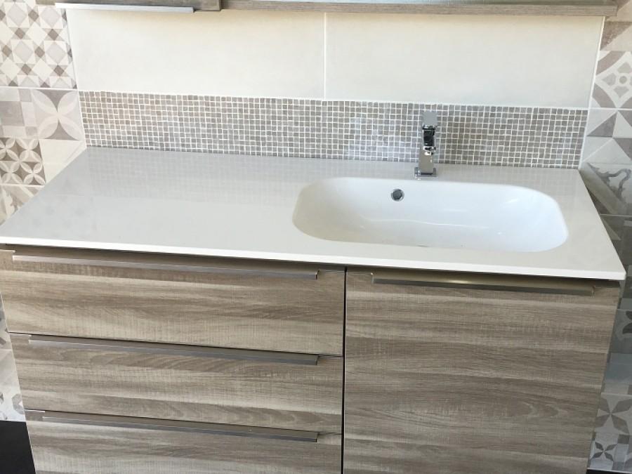 meuble salle de bain legend bloc miroir