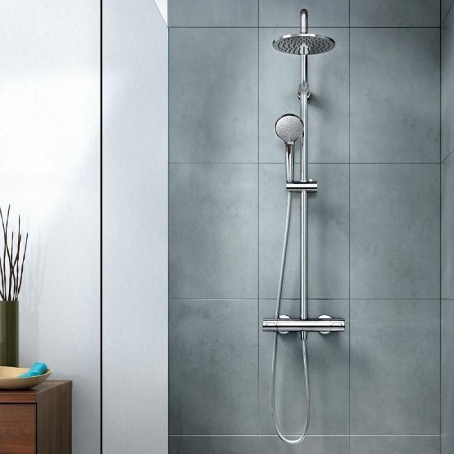 colonne de douche baignoire trendy colonne de baignoire avec douche de tte carre x cms slim. Black Bedroom Furniture Sets. Home Design Ideas