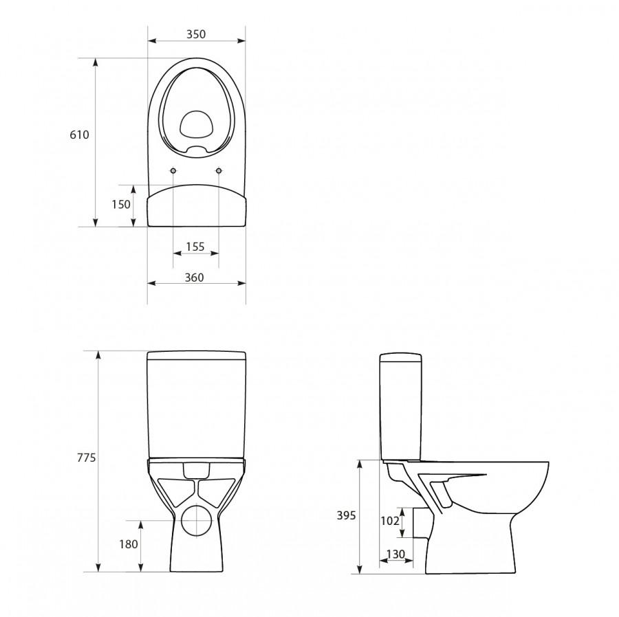 pack wc sol velvet sans bride sortie horizontalesanitaire. Black Bedroom Furniture Sets. Home Design Ideas