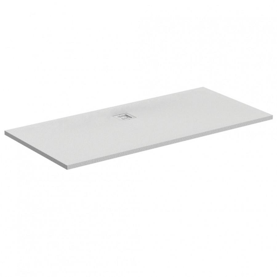 Receveur de douche ultra flat s blanc 180x80 - Receveur de douche 90x180 ...