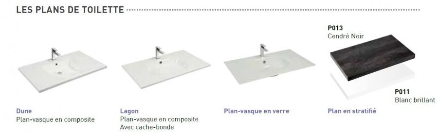 meuble simple vasque vogue 90 cristal meuble de salle de bain douche baignoire. Black Bedroom Furniture Sets. Home Design Ideas