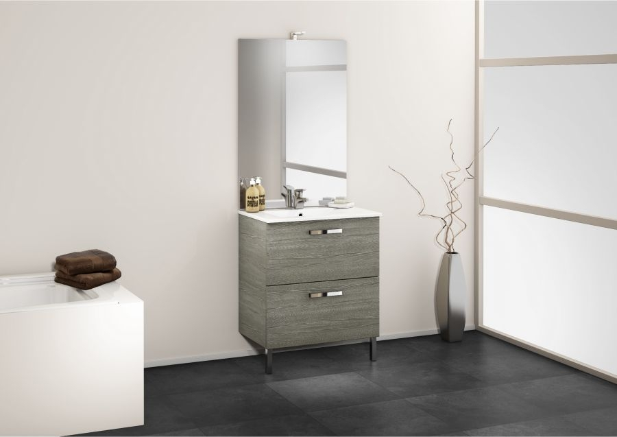 meuble simple vasque 70 cm chango sci e meuble de salle de bain douche. Black Bedroom Furniture Sets. Home Design Ideas