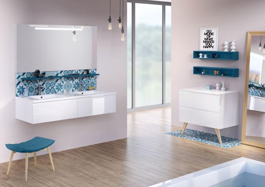 Siphon lavabo plat pvc meuble de salle for Siphon salle de bain