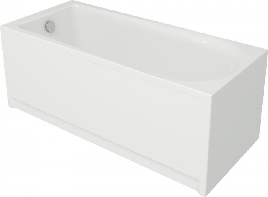 Baignoire rectangulaire 170x70 flavia sans for Grande baignoire rectangulaire