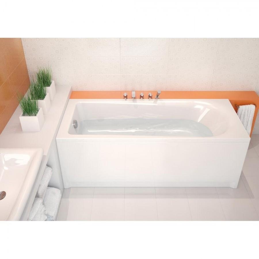 Poser Une Baignoire Avec Rebord baignoire rectangulaire 140x70 flavia sans tablier
