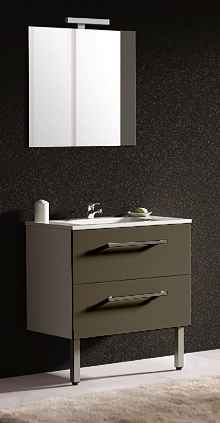 meuble simple vasque palace 80cm meuble de salle de bain douche baignoire. Black Bedroom Furniture Sets. Home Design Ideas