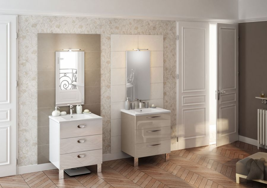 meuble simple vasque trendy 70 cm cristal meuble de salle de bain douche. Black Bedroom Furniture Sets. Home Design Ideas
