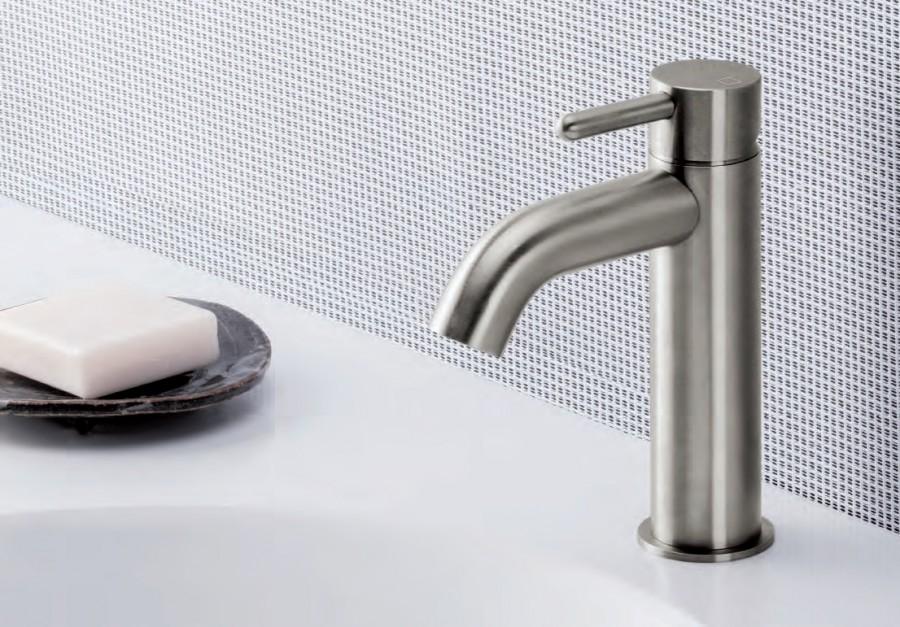 mitigeur lavabo inox ix ondyna meuble de salle de bain douche baignoire. Black Bedroom Furniture Sets. Home Design Ideas