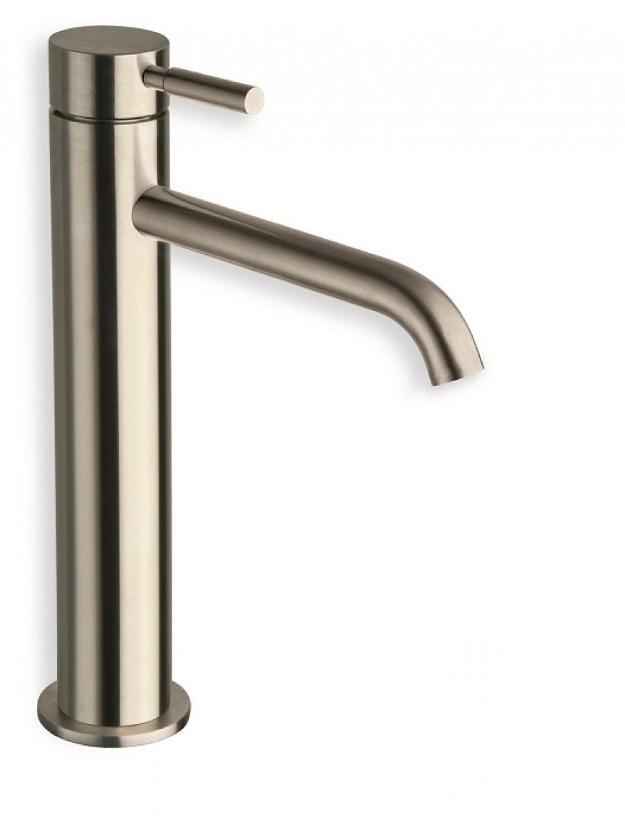 mitigeur lavabo inox mi haut pix ondyna meuble de salle de bain douche. Black Bedroom Furniture Sets. Home Design Ideas