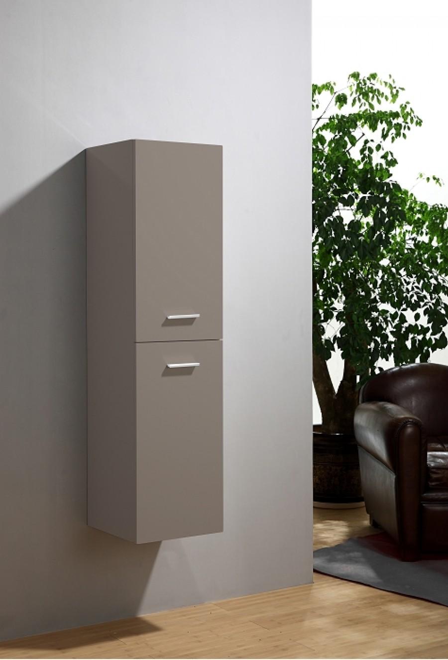 Colonne de salle de bain saturn 2 0 135cm meuble de salle de bain douche - Colonne salle de bain taupe ...