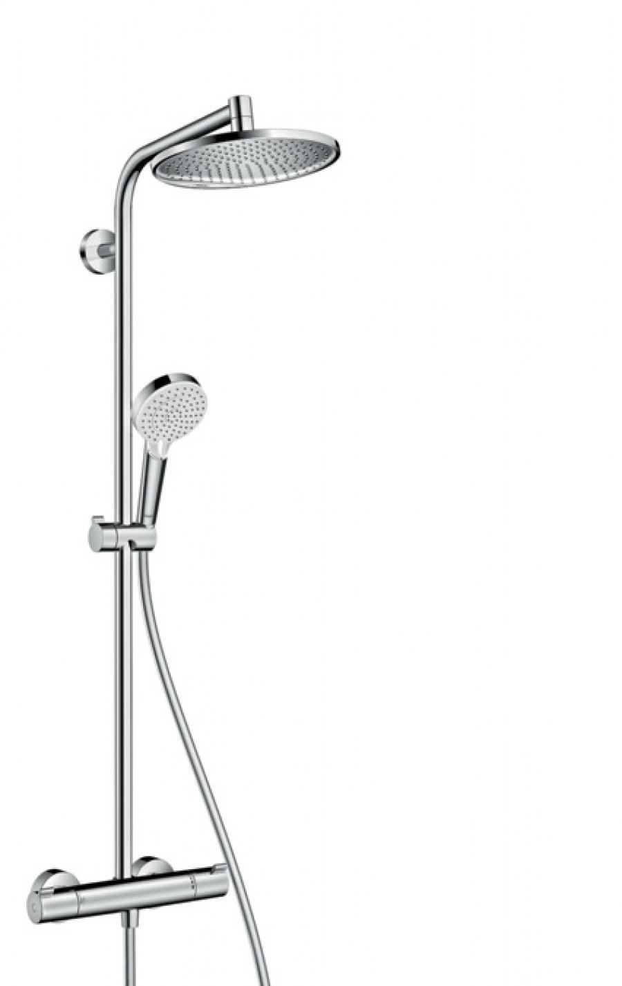 Colonne de douche Crometta S Showerpipe 240 1 jet - 27267000*