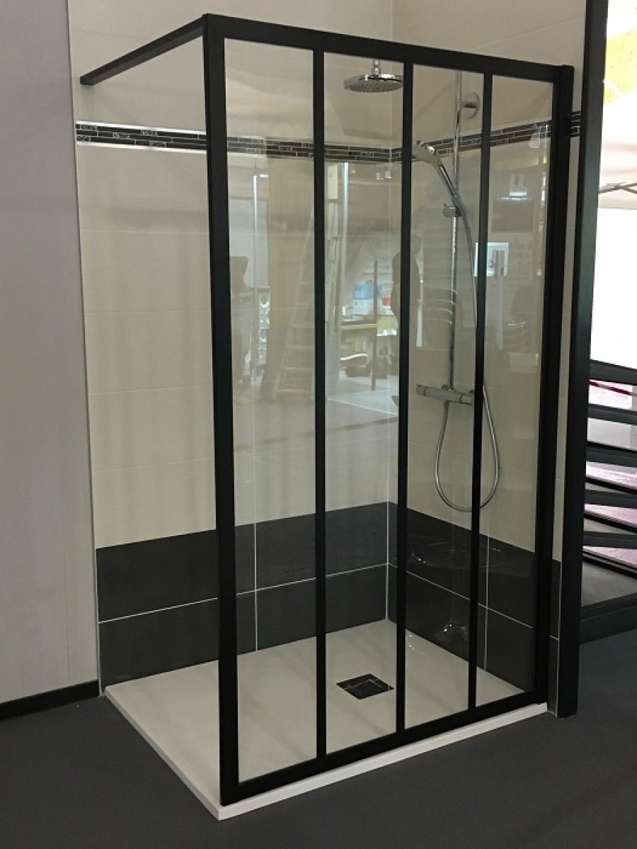 Paroi de douche loft classic 120 cm verre clair jacuzzi - Paroi de douche 100 ...