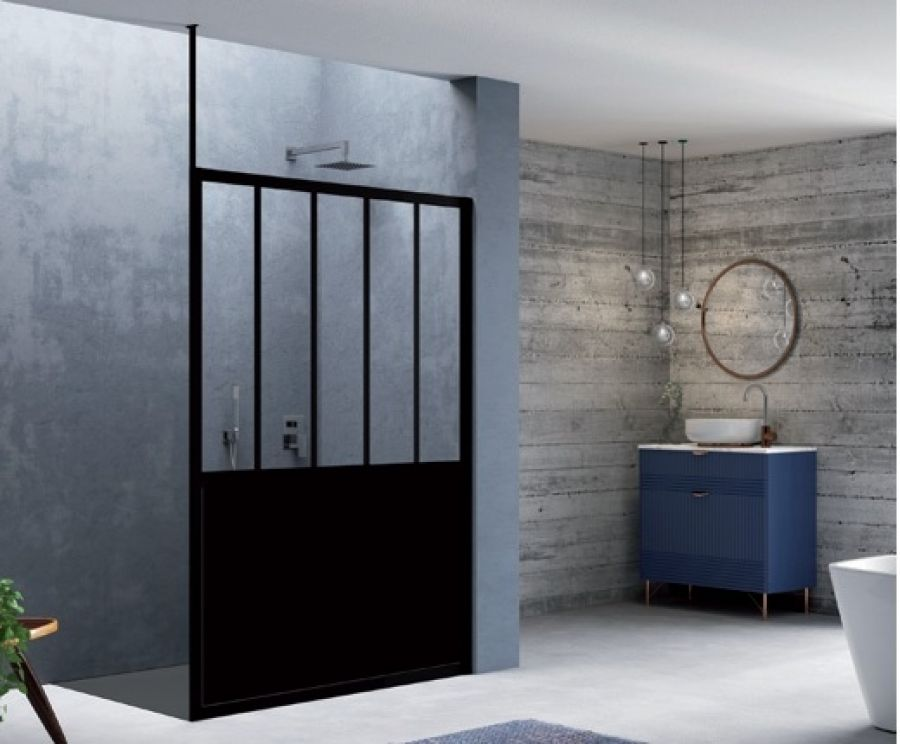 paroi douche verriere great paroi de douche verrire. Black Bedroom Furniture Sets. Home Design Ideas