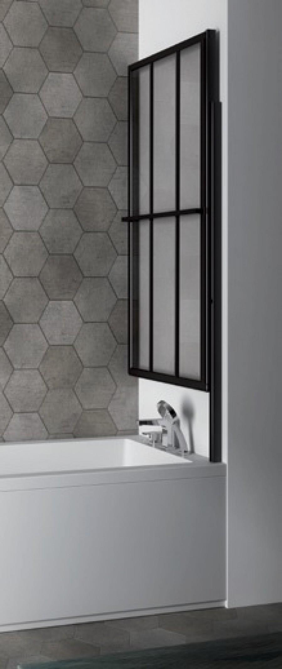 paroi de baignoire loft screen relevable et pivotante. Black Bedroom Furniture Sets. Home Design Ideas