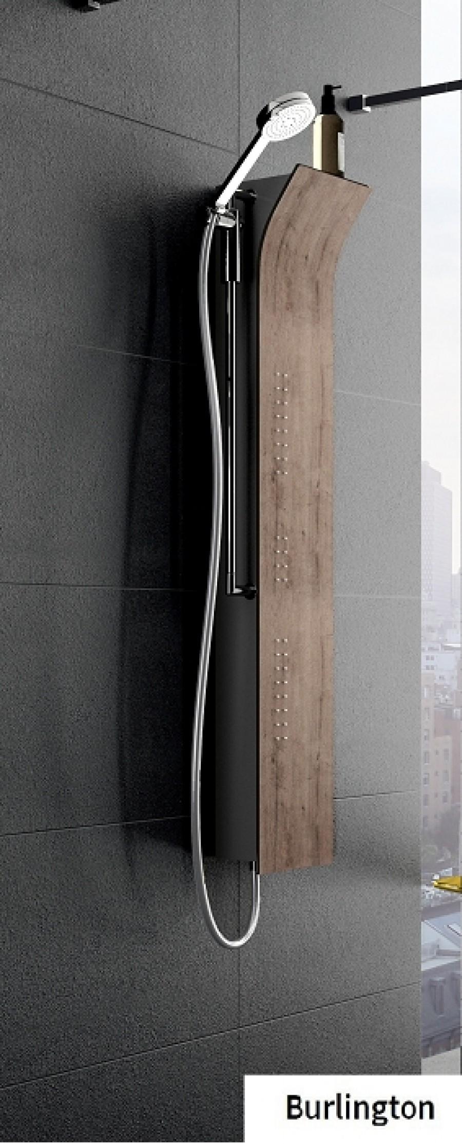 colonne de douche vanity bois mitigeur m canique. Black Bedroom Furniture Sets. Home Design Ideas