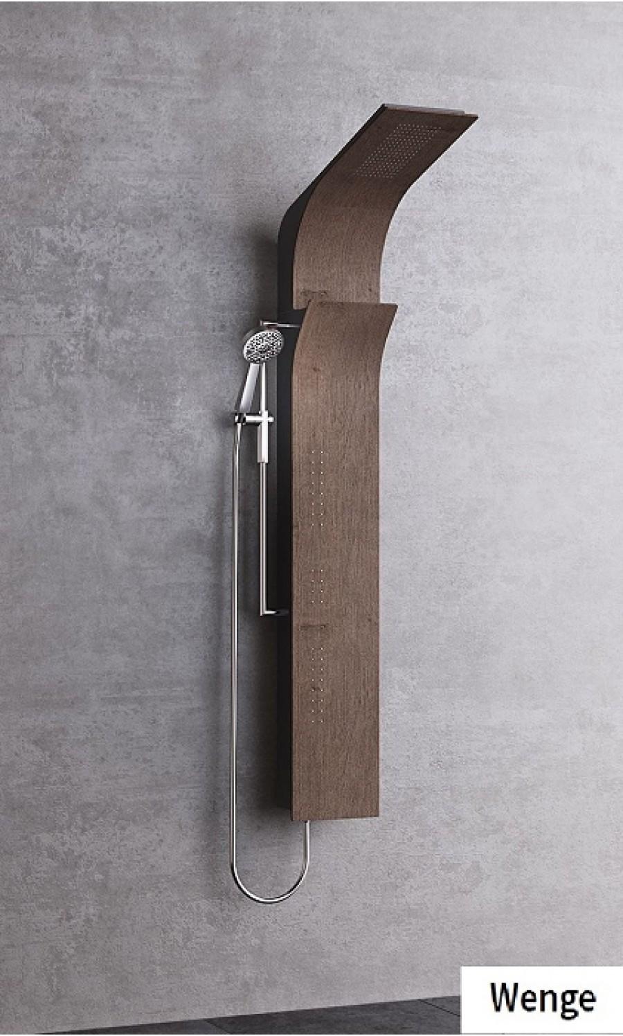 colonne de douche vanity s bois mitigeur m canique. Black Bedroom Furniture Sets. Home Design Ideas