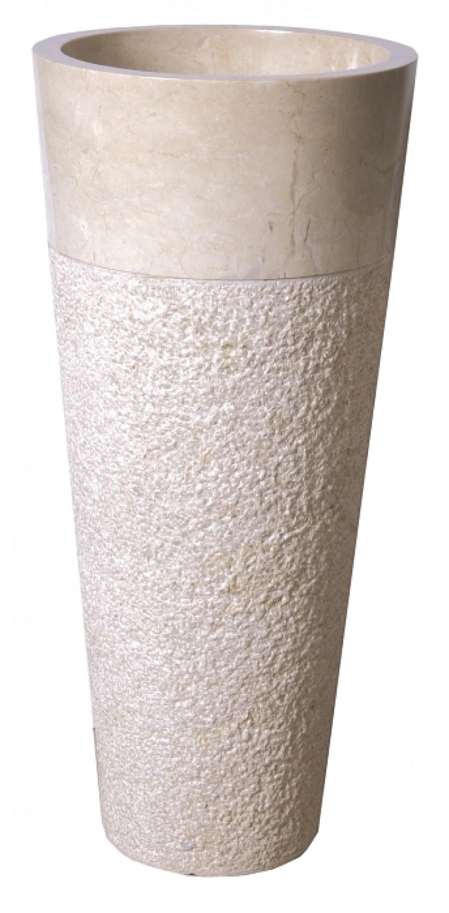 bol blanc martele