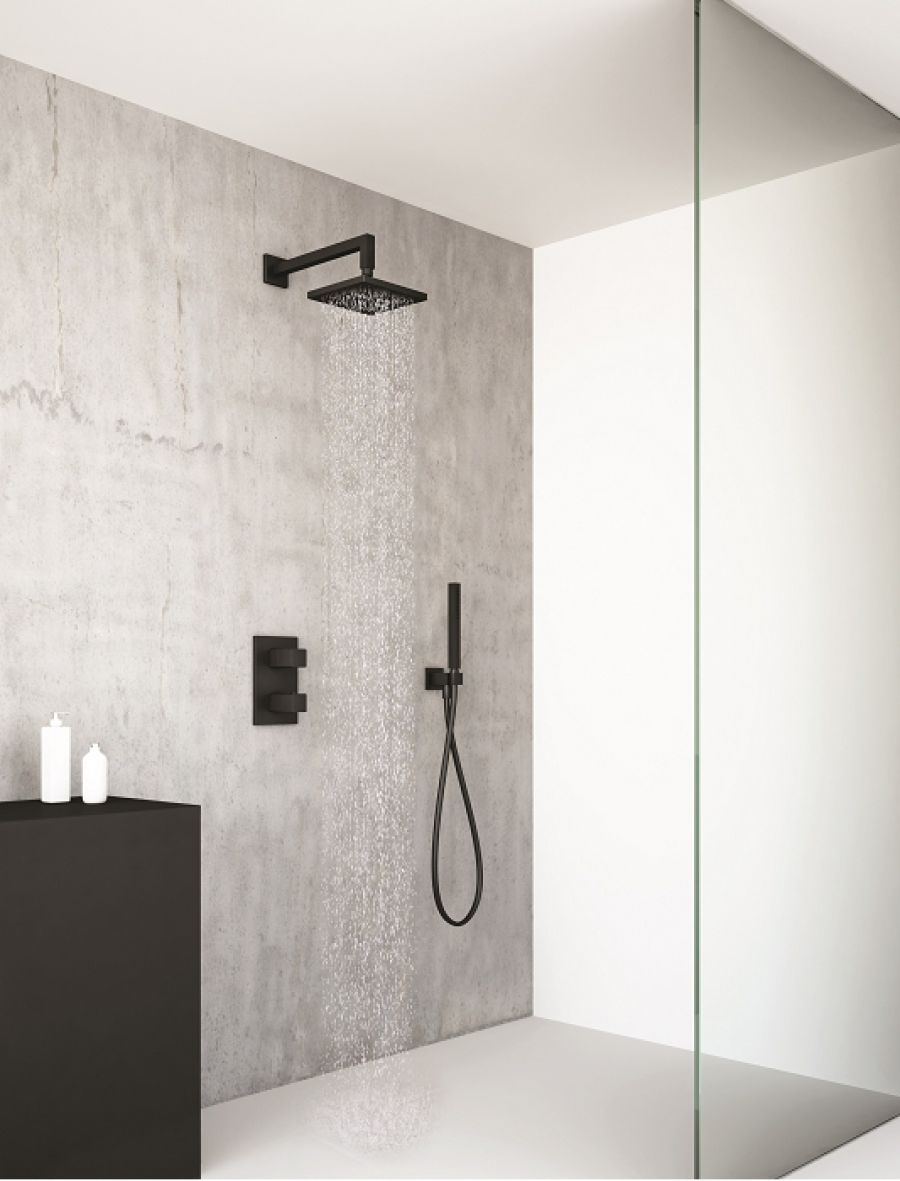 pack douche thermostatique blackmat quadri meuble de salle de bain. Black Bedroom Furniture Sets. Home Design Ideas