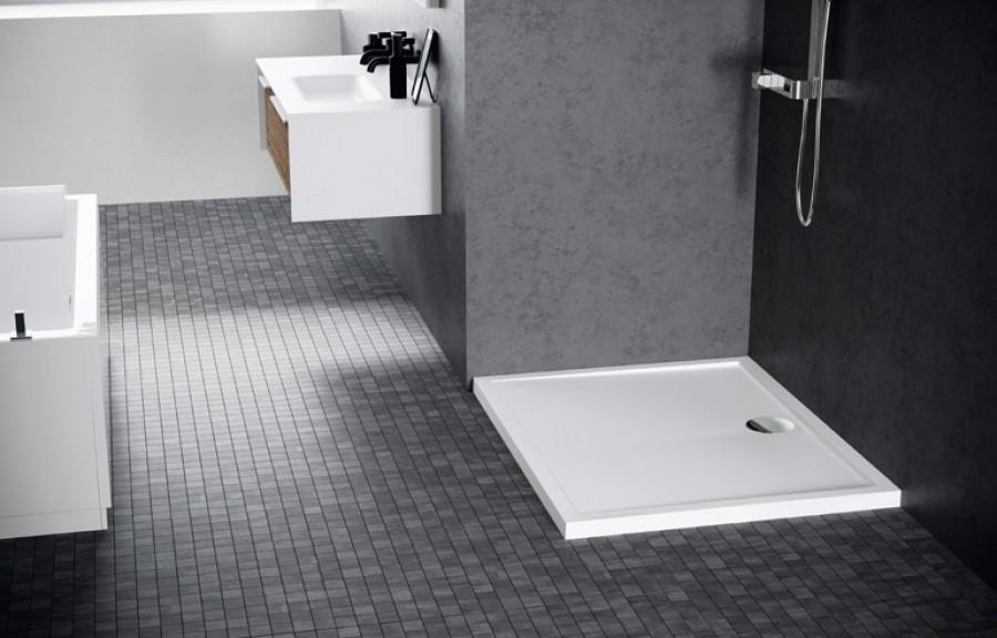 receveur de douche new olympic 100x100 poser. Black Bedroom Furniture Sets. Home Design Ideas