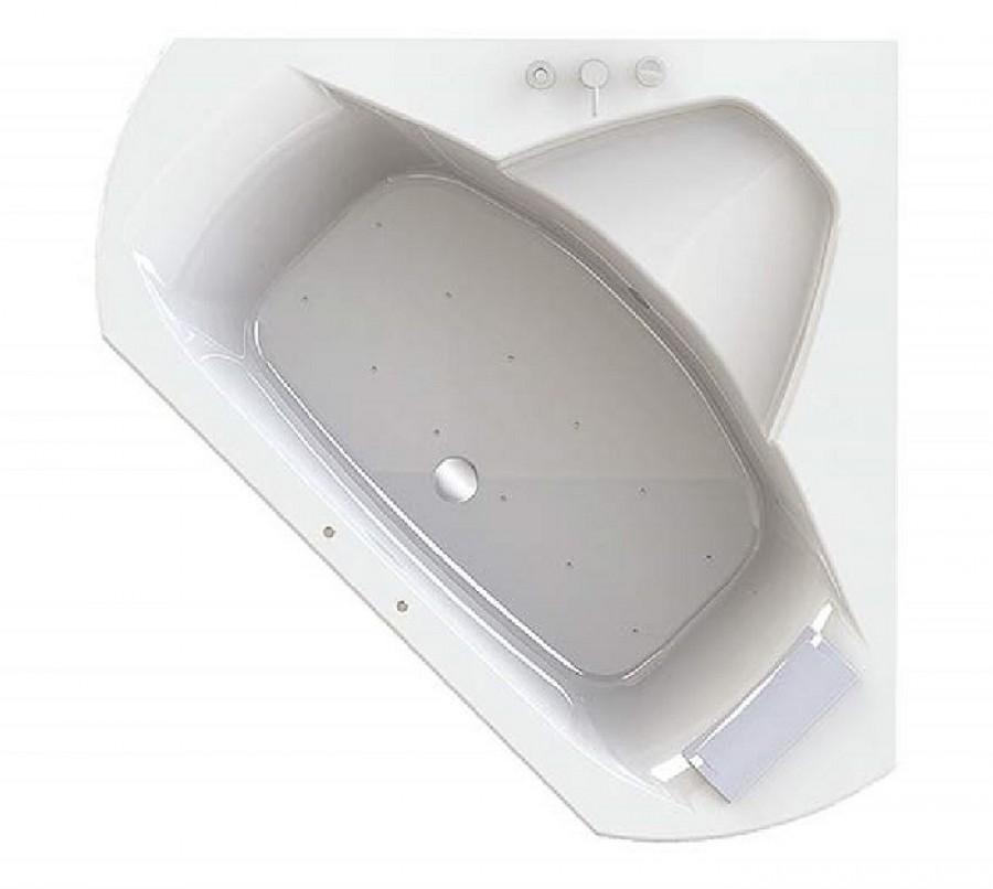 baignoire baln o d 39 angle 140x140 pl nitude t te. Black Bedroom Furniture Sets. Home Design Ideas