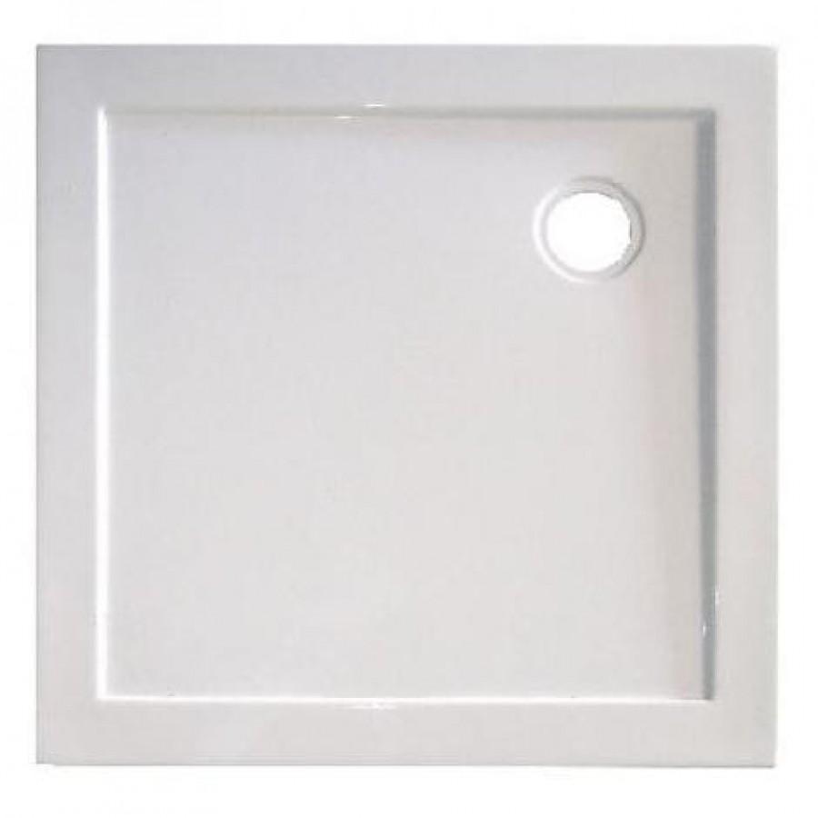 receveur carr yqua extra plat 80x80 cm meuble de salle de bain douche. Black Bedroom Furniture Sets. Home Design Ideas
