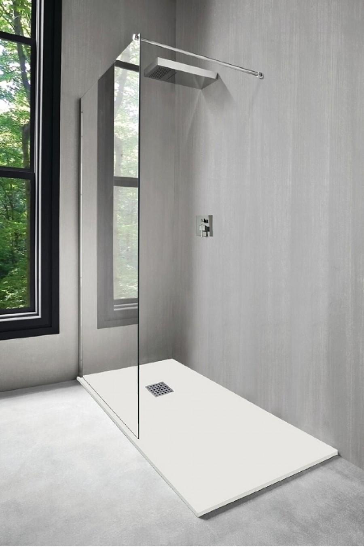 Receveur de douche NOLA Blanc 160x90 cmSanitaire.fr | Meuble de ...
