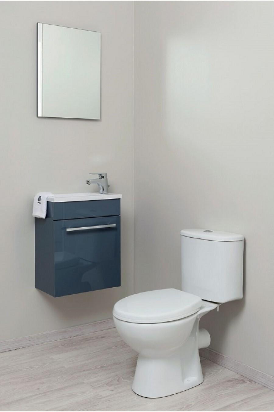 Toilette Gain De Place wc à poser clain 2 - gain de place silencieux
