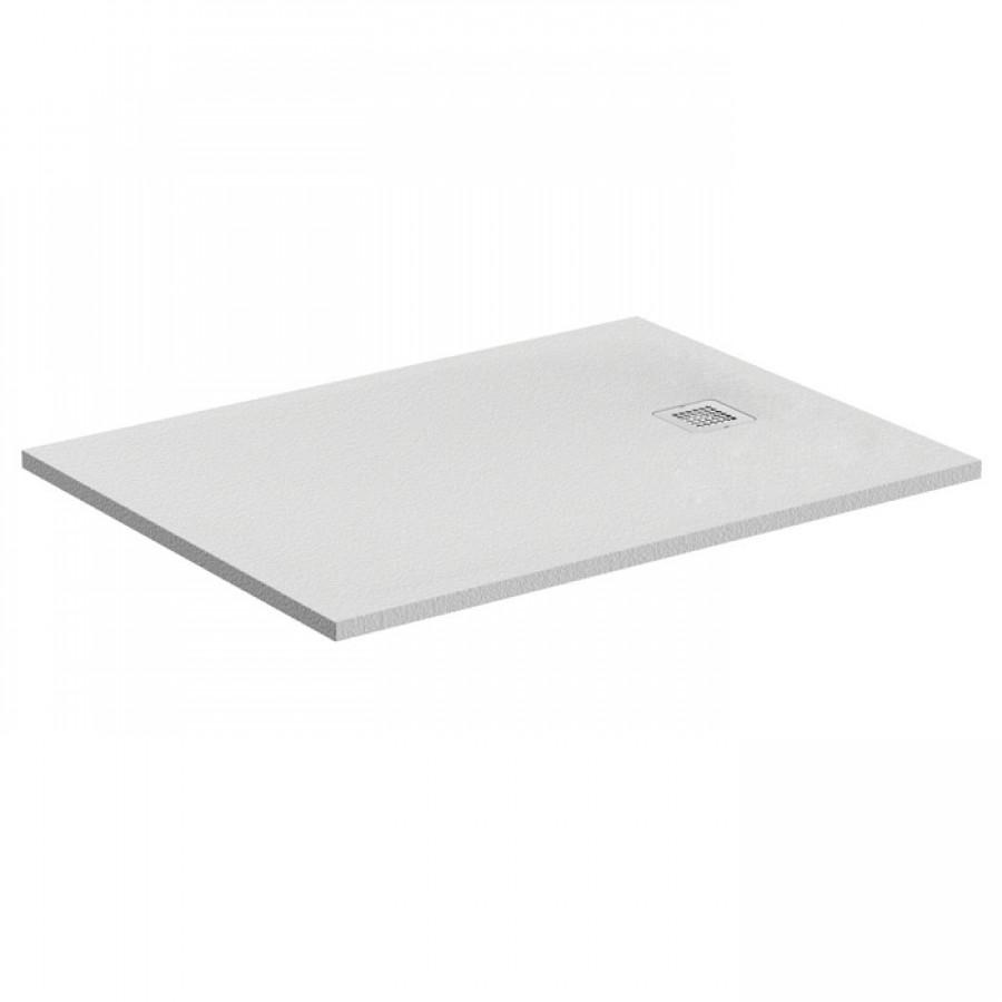 receveur de douche ultra flat s blanc pur 160x80 cm. Black Bedroom Furniture Sets. Home Design Ideas