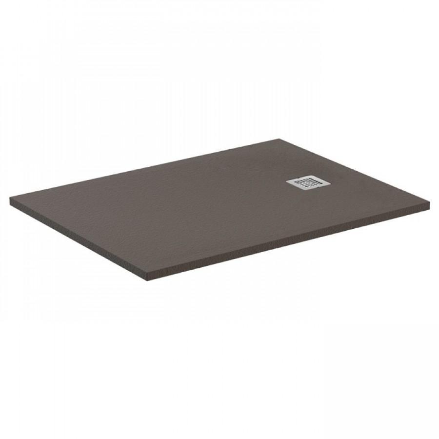 receveur de douche ultra flat s moka absolu 100x70 cm. Black Bedroom Furniture Sets. Home Design Ideas