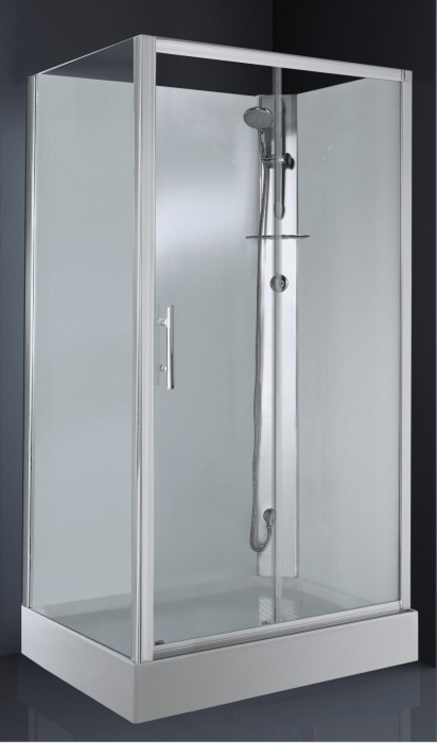Cabine de douche CARAT 120x80 cm Thermostatique - Version Droite