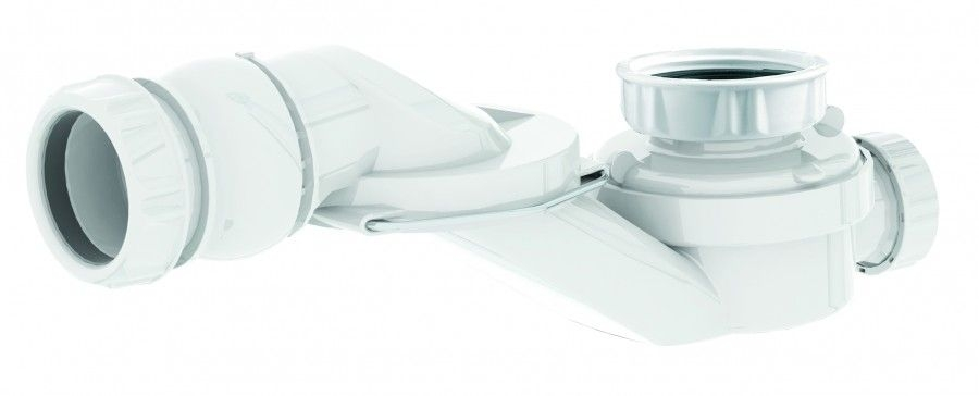 Siphon orientable extra-plat pour baignoire - 560000*