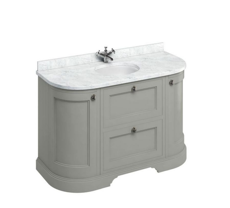 Meuble De Salle De Bain Traditionnel Simple Vasque Olive
