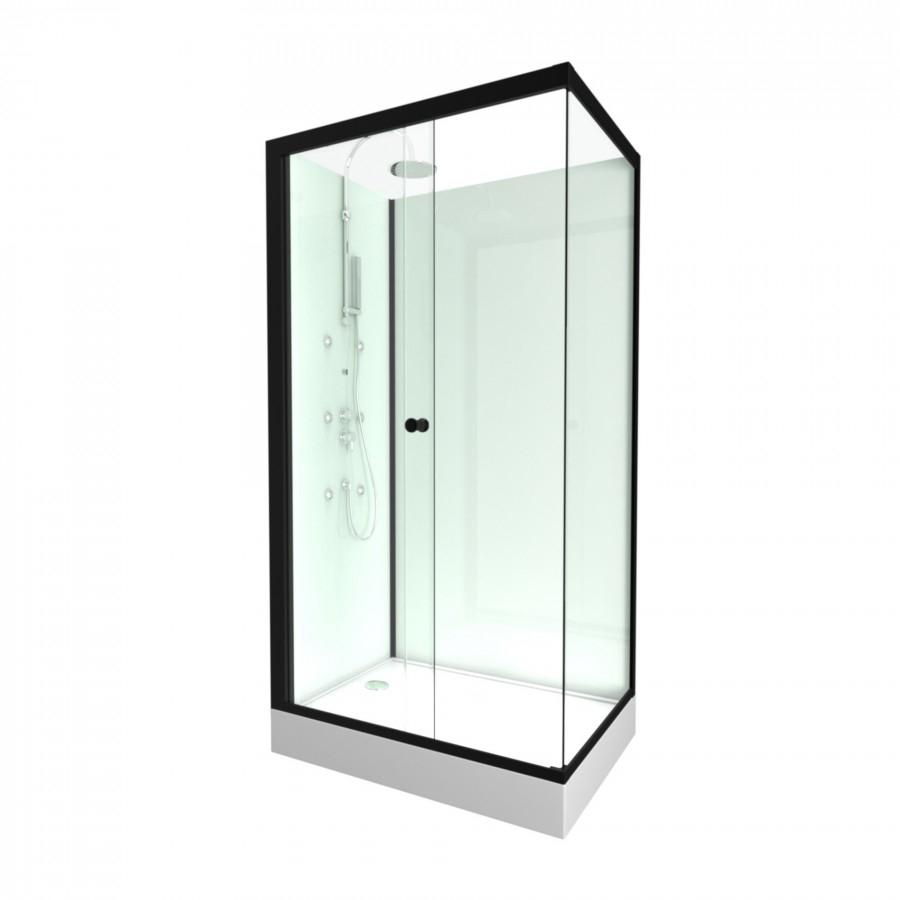 Cabine rectangulaire INDUSTRY 80x110 cm