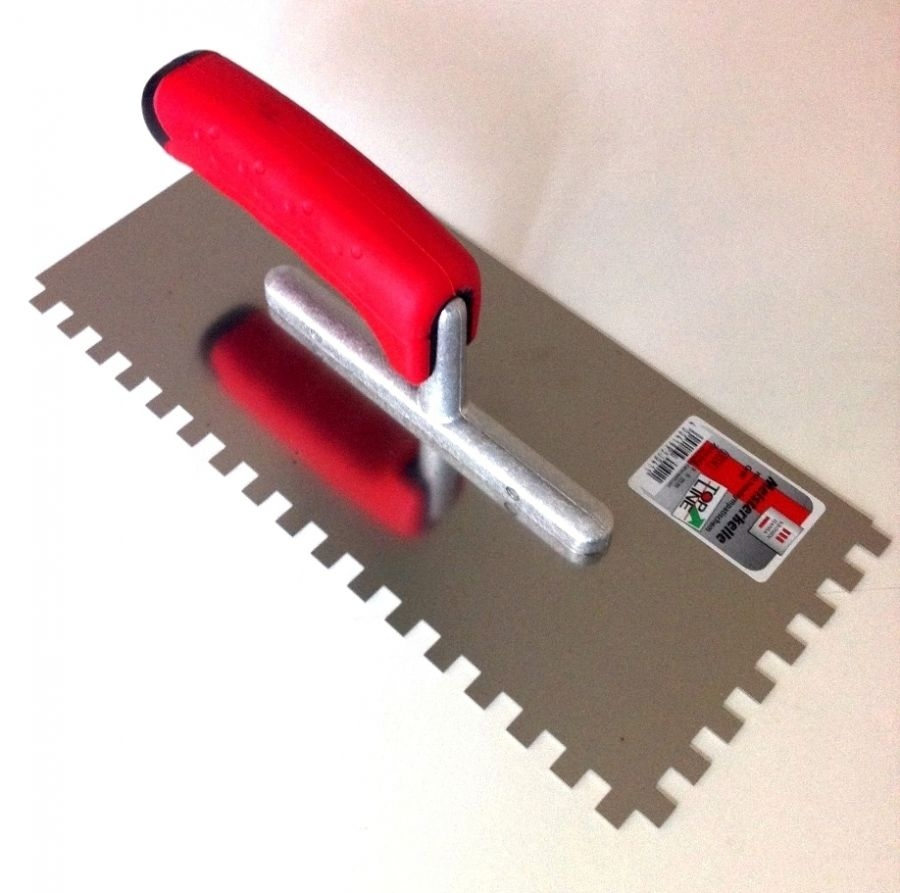 Peigne à colle TOPLINE en métal Dentée 8 x 8 mm