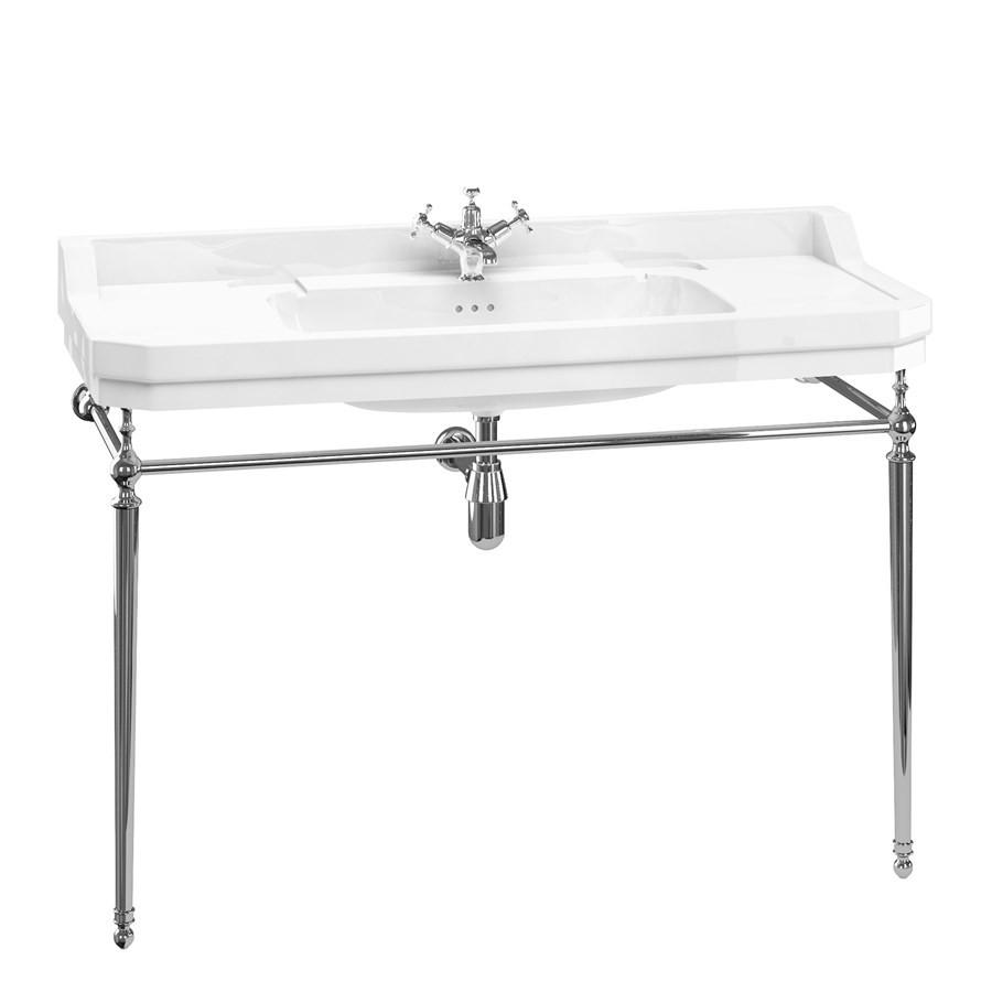 Simple vasque rectangulaire Edouardien Burlington - 1 Trou robinetterie